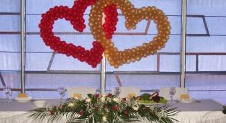 Как сделать сердце из воздушных шариков