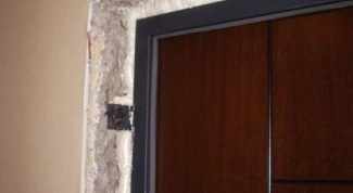Как заделать дверные откосы