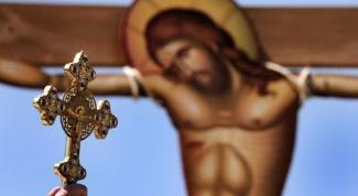 Как освятить в церкви нательный крест