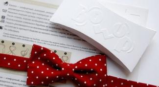 Как носить галстук-бабочку