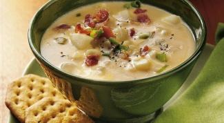 Как готовить суп с картошкой