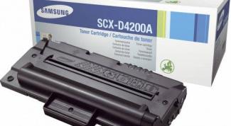 Как прошить картридж SCX 4200