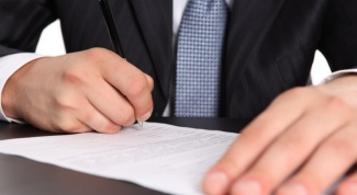 How to make a statement about the termination of the contract