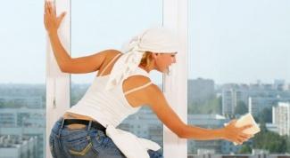 Как отмыть краску от стекла