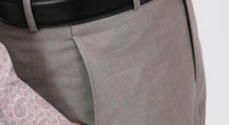 How to build a pattern men's classic trousers