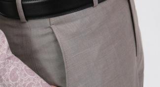 Как построить выкройку мужских классических брюк
