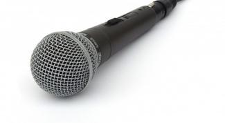 Как включить микрофон для караоке