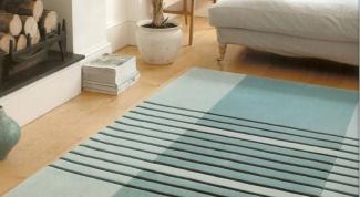 Как выбрать напольные ковры