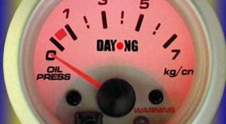 Как измерять давление масла