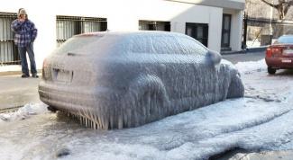 Как растопить лед в бачке омывателя