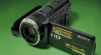 Как настроить видеокамеру Sony