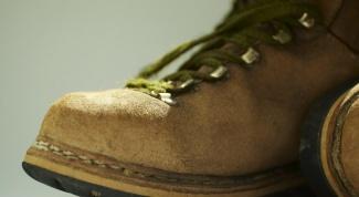 Как покрасить ботинки