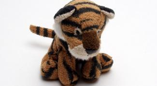 Как сделать тигренка