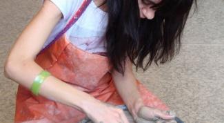 Как замесить глину