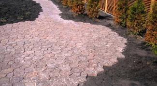 Как выкладывать тротуарную плитку