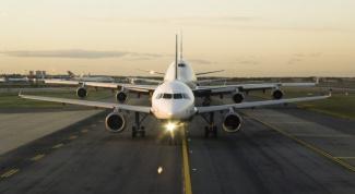 Как вести себя во время взлета самолета