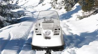 How to change the snowmobile Buran