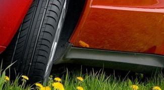 Как хранить летние шины