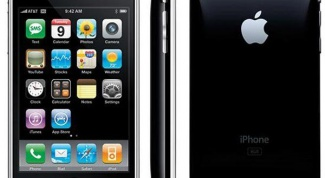 Как узнать версию прошивки IPhone 2G
