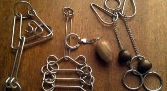 Как разобрать металлическую головоломку