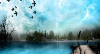 Как нарисовать красивый пейзаж