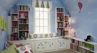 Как выполнить декор стен в детской комнате