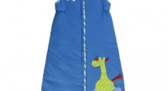 How to sew a sleeping bag for children
