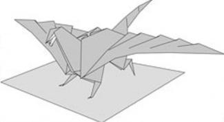 Как сделать дракона - оригами