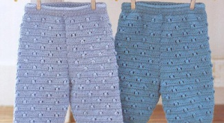 Как связать штанишки