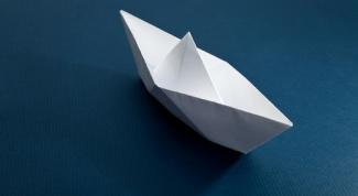 Как делать бумажные кораблики