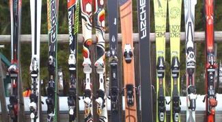 Как выбирать горные лыжи