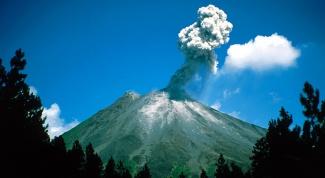 Как сделать вулкан