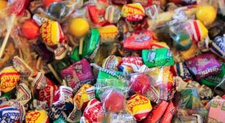 Как сделать конфету на елку