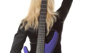 Как натянуть струны на гитару