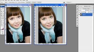 Как изменить глаза в фотошопе
