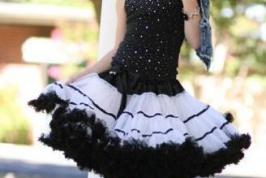 Как сшить девочке юбку