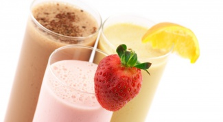 Как готовить молочный коктейль