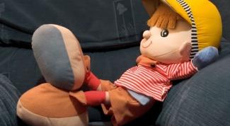 Как сделать кукле руку