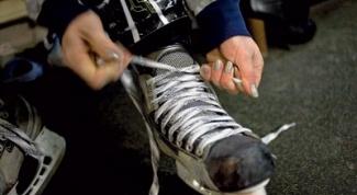 Как шнуровать хоккейные коньки