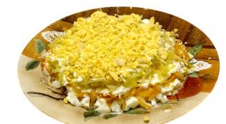 Как приготовить салат мимозу