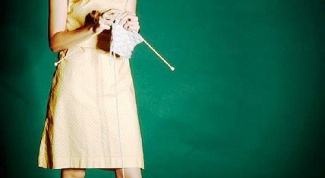 Как связать платье крючком