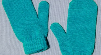 Как вязать палец у варежки