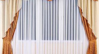 Как сшить штору с ламбрекенами
