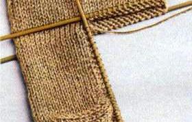 Как вязать пятку у носков