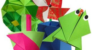 Как делать оригами по схеме