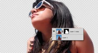 Как вырезать волосы фотошопе