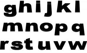 Как сделать буквы