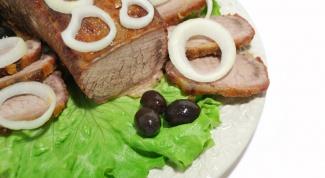Как запечь говядину в духовке