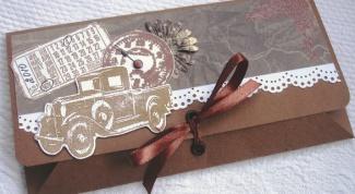 Как сделать из листа конверт
