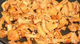Как жарить грибы